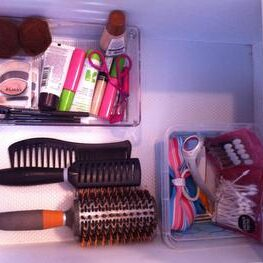 Vanity drawer after